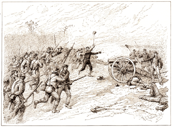 The capture of Cooper's Battery