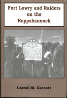 Cover of Fort Lowry and Raiders on the Rappahannock